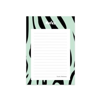 NOTITIEBLOK ZEBRA MINT