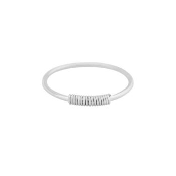RING WIRED ZILVER